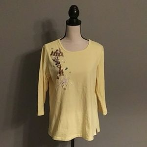**3/$10** Quacker Factory Top Size Medium